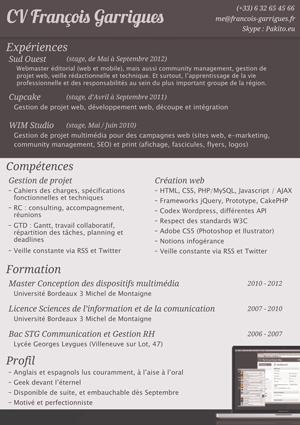 Miniature CV