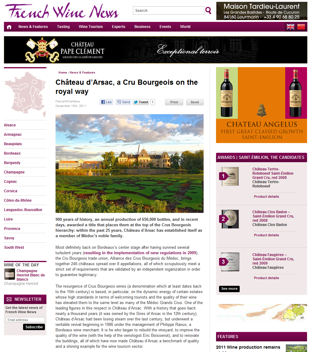 french wine news